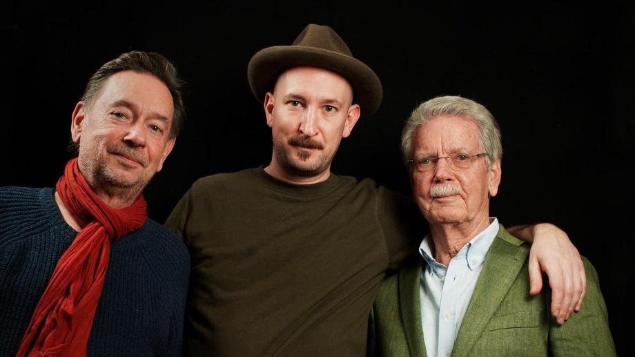 v.l.n.r. Walter, Hans-Dieter, Christopher